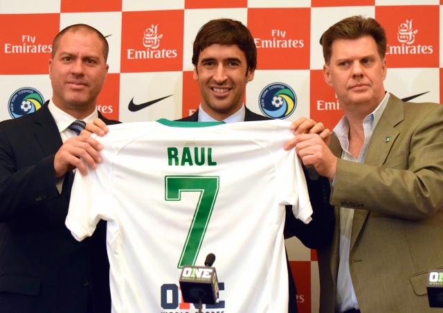 'No hay ciudad como NY ni club como el Cosmos': Raúl
