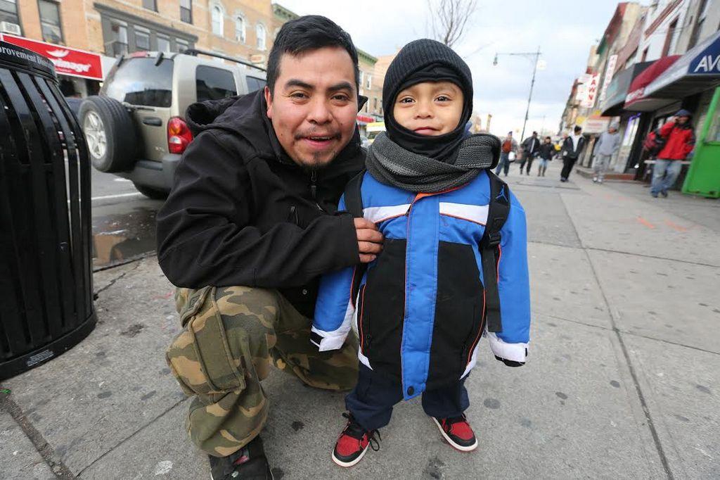 Esto le piden los mexicanos de NYC a la Guadalupana (fotos)