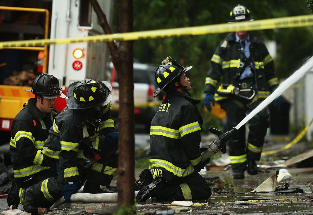 Anciano muere durante un incendio en Brooklyn
