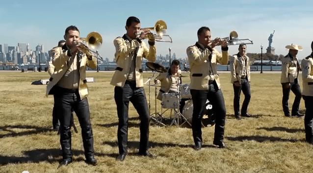 """El pasado octubre, la banda grabó el videoclip de """"Lloré, grité y canté"""" NYC."""