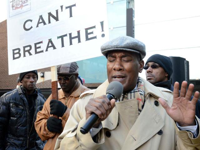 Vigilia en memoria de Eric Garner y policías asesinados en Brooklyn