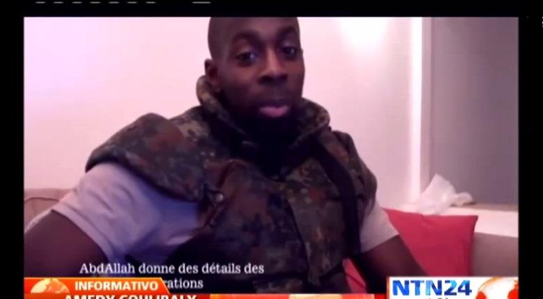 Aparece video de atacante a supermercado de París en el que jura lealtad a ISIS