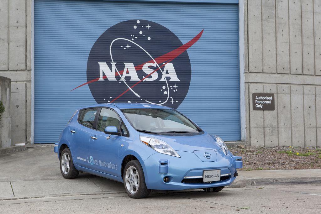 Nissan y la NASA desarrollan vehículos de autoconducción