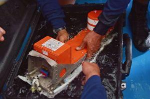 Recuperaron la segunda caja negra del avión de AirAsia