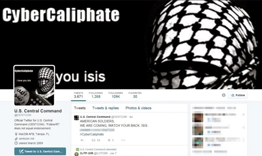 """ISIS hackea al Pentágono y habla de """"Cibercalifato"""""""
