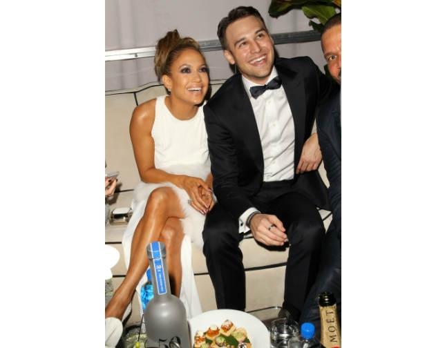 Jennifer López y Ryan Guzmán, ¿compañeros o amantes?