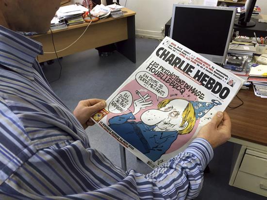 Caricaturistas franceses preparan homenaje a víctimas de Charlie Hebdo