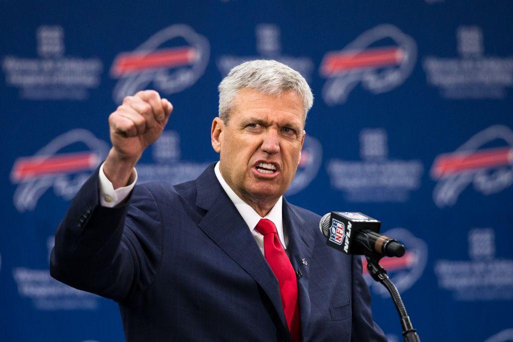 Rex Ryan llega a Buffalo con sus promesas y energía