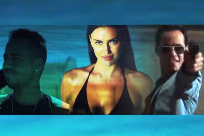 Romeo Santos y Marc Anthony, ¿se pelean por el amor de Irina Shayk?