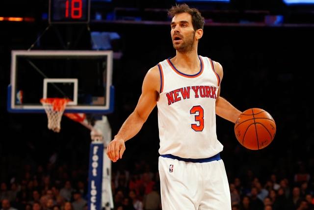 Calderón vive la temporada más difícil con Knicks