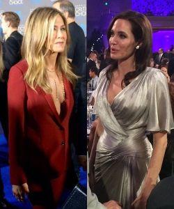 Critics' Choice Awards 2015: Angelina Jolie y Jennifer Aniston se vieron las caras