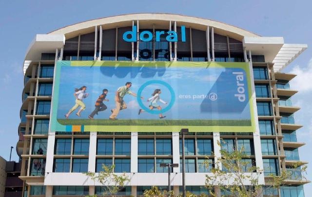 Fachada de la sede de Doral Bank.