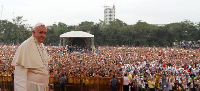 Se calcula que la misa fue escuchada por más de 6 millones de personas