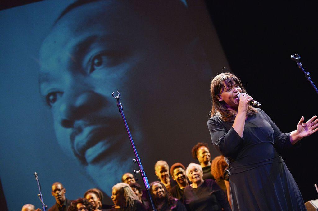 NYC recuerda hoy a Martin Luther King.