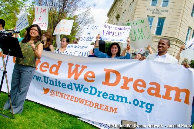 Cristina Jiménez trabaja por lograr el Dream Act.