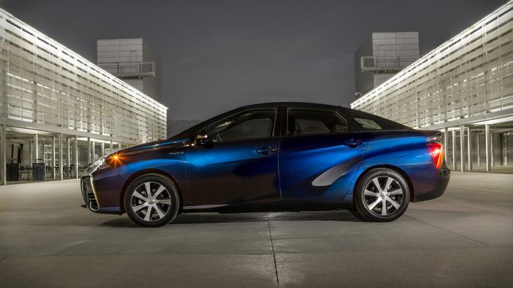 Más vehículos de pila de combustible para Olímpicos de Tokio