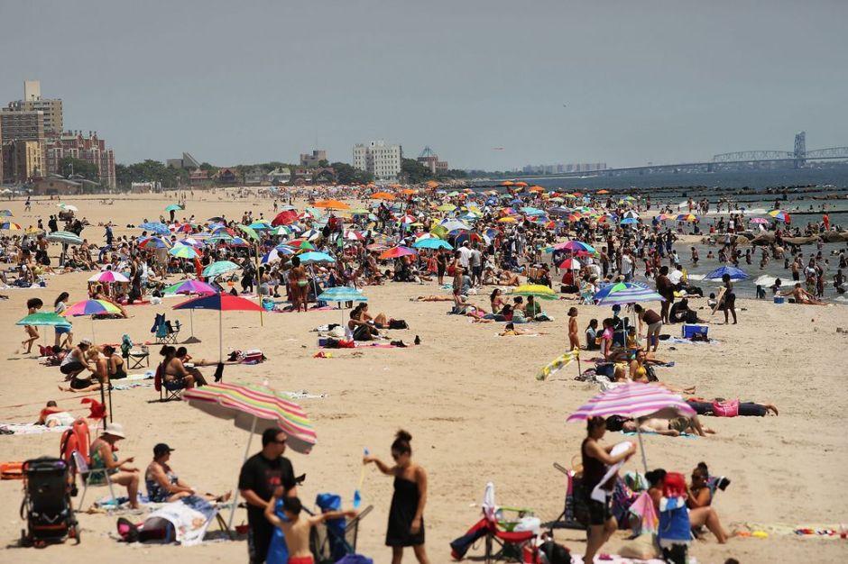 #BuenosDíasNYC: ¡Woo-hoo!… más playa para los neoyorquinos