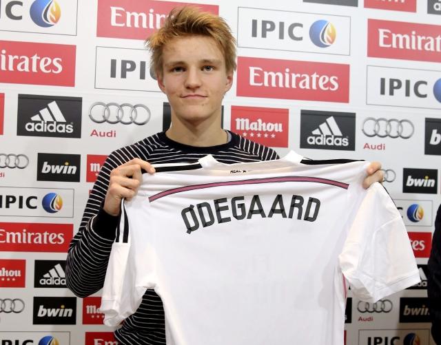 Prodigio noruego llega al Real Madrid