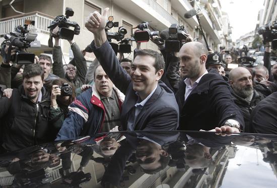 Coalición izquierdista Syriza triunfa en elecciones de Grecia
