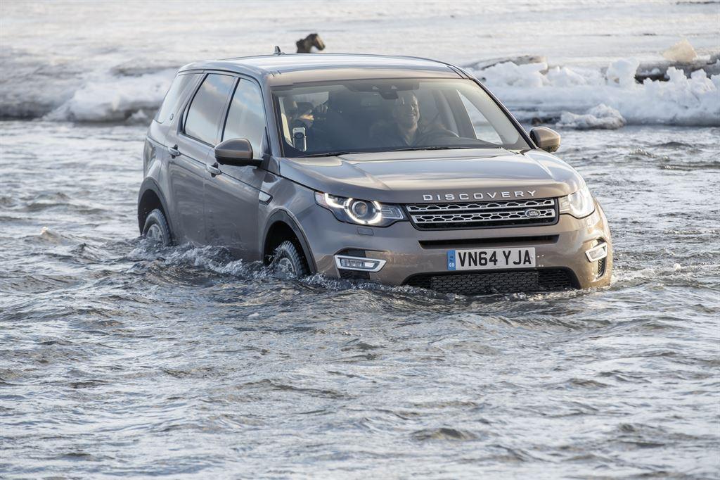 Land Rover Discovery Sport 2015: prueba de manejo