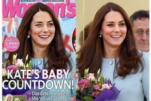 ¡Qué horror! Kate Middleton fue víctima del 'photoshop'