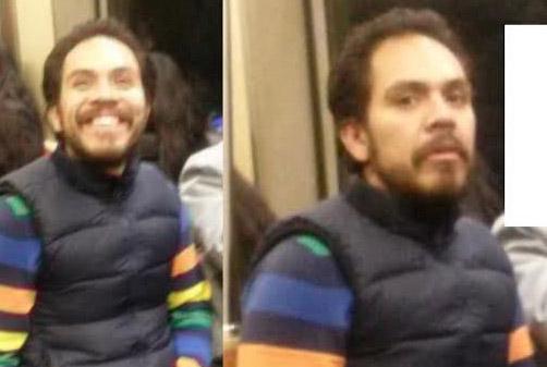 Se masturba en tren de Queens y sonríe a la cámara
