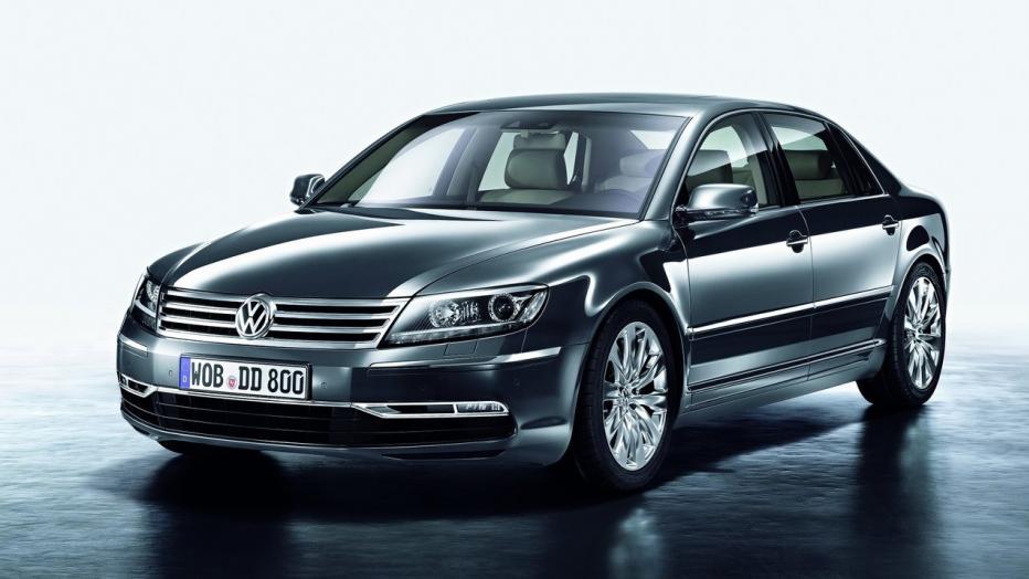Volkswagen quiere resucitar el Phaeton en Estados Unidos