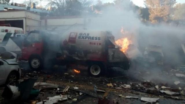 Aún graves 39 adultos y bebés quemados por explosión de hospital