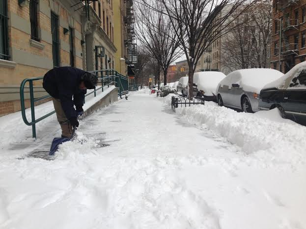 Calculan entre 5 y 10 pulgadas de nieve para el área triestatal