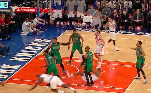 Los Knicks sumaron su quinta derrota en diez partidos.
