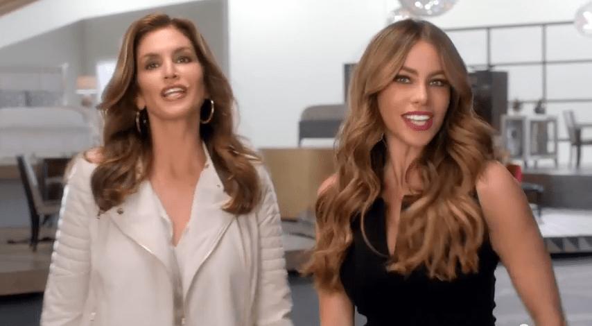 Cindy y Sofía están espectaculares en este anuncio.