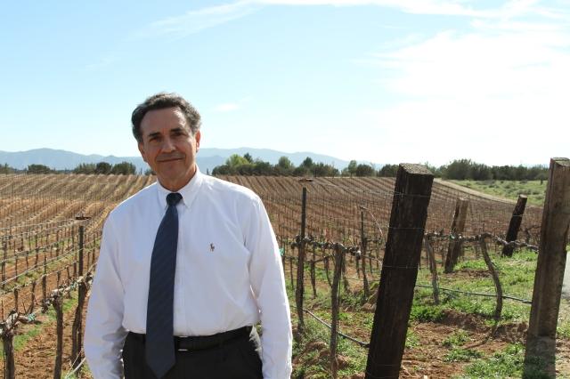 Un emprendedor nato entre vinos