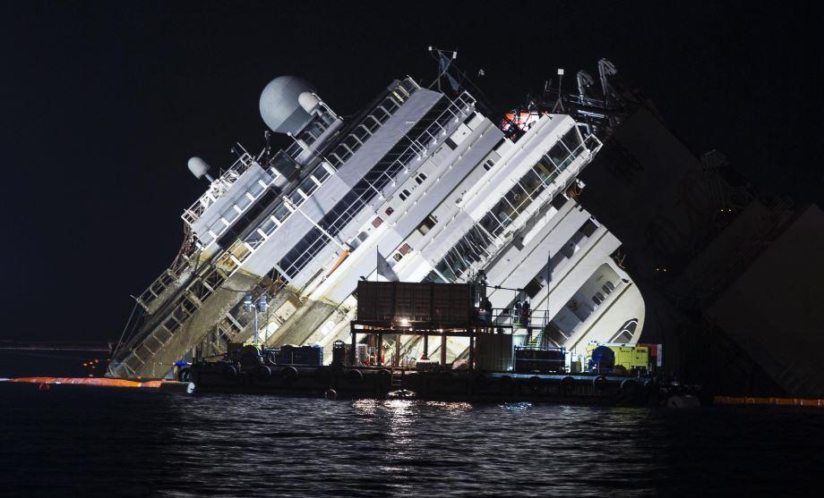 Condenan a 16 años de cárcel a capitán del Costa Concordia