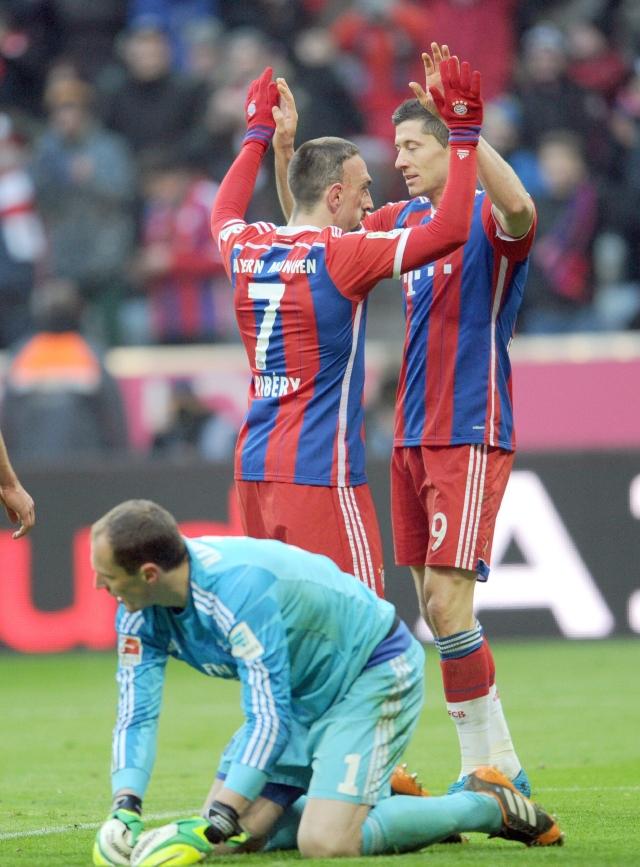 El Bayern  se da un banquete