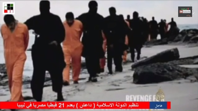 ISIS difunde video de decapitación de cristianos egipcios