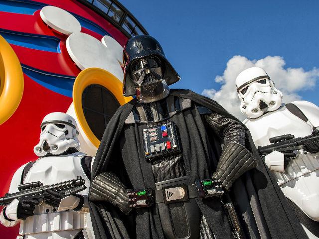 Darth Vader y los Stormtroopers no faltarán en su cita en el crucero Disney Fantasy.