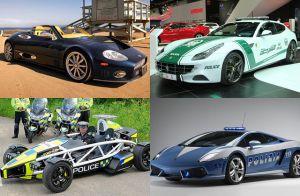 Los autos de policía más rápidos del mundo
