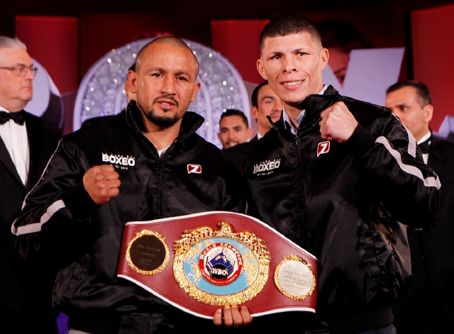 Salido y 'Rocky' presentan su pelea en México