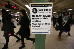 Tomar el metro será un dolor de cabeza este fin de semana