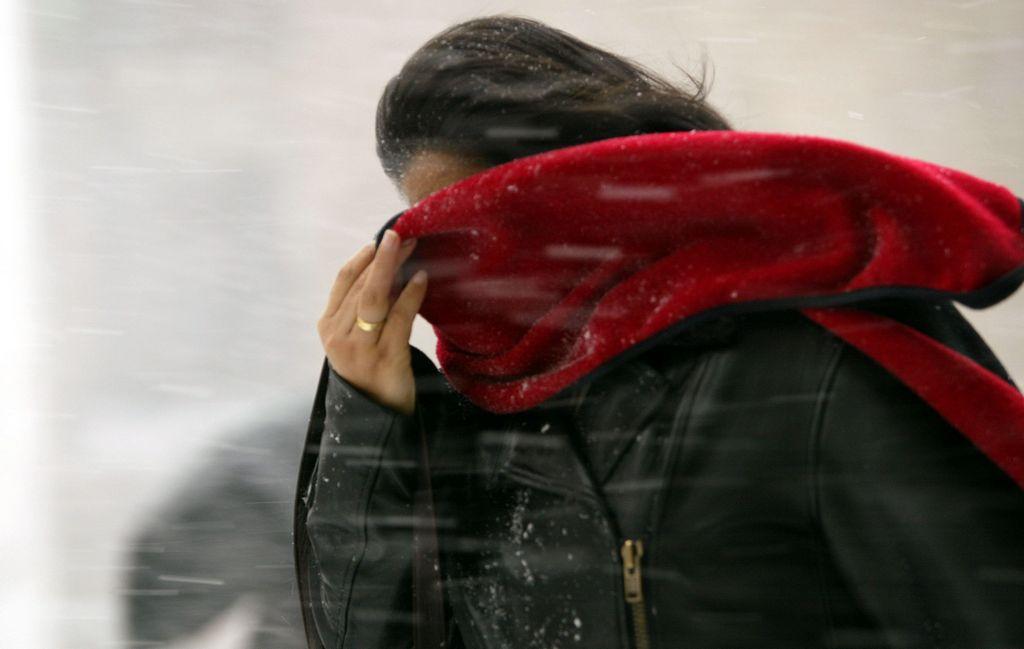 El frío de hoy en NYC rompió récord de 1950