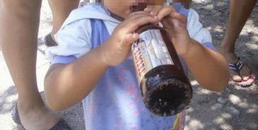 Niño mexicano de 6 años llega borracho a la escuela