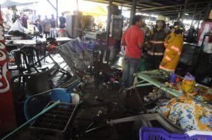 Al menos 56 lesionados por explosión en Honduras