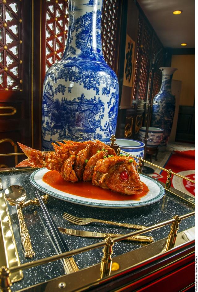 De cena china