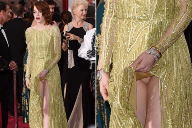 Emma Stone y el blooper más hot en la gala de los Oscar