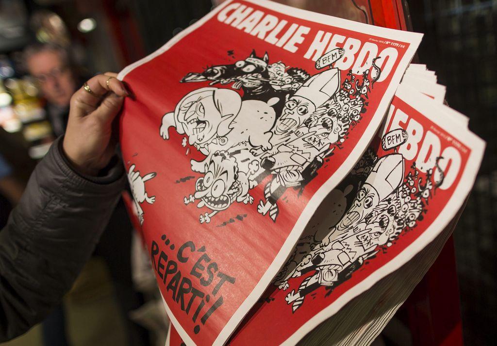 """""""Charlie Hebdo"""" regresa con más calma pero el mismo combate"""