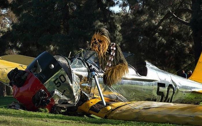 ¿Viste ya los memes del accidente de Harrison Ford?