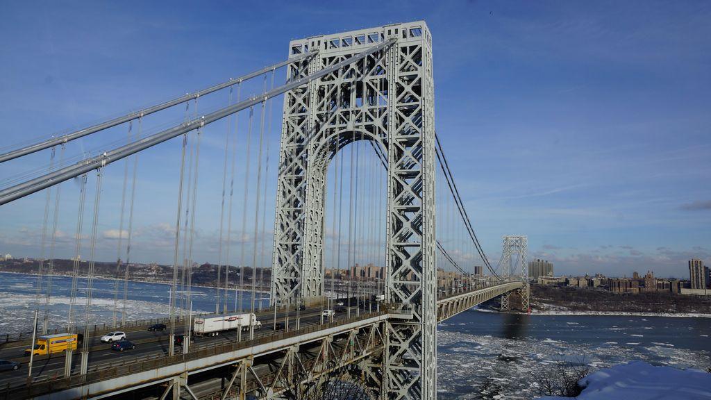 El puente George Washington es el lugar de referencia de Fort Lee.