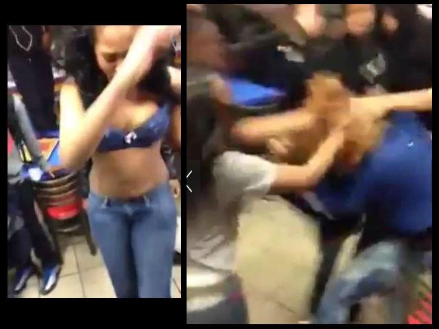 Escandalosa pelea de jovencitas en un McDonald's de Brooklyn (video)