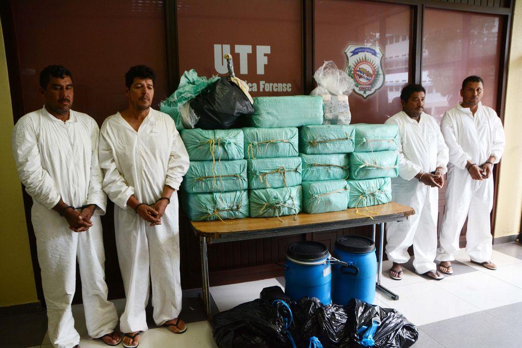 Dominicana captura a cuatro narcos colombianos