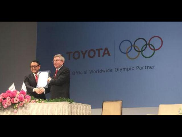 Toyota firma su patrocinio con los juegos olímpicos